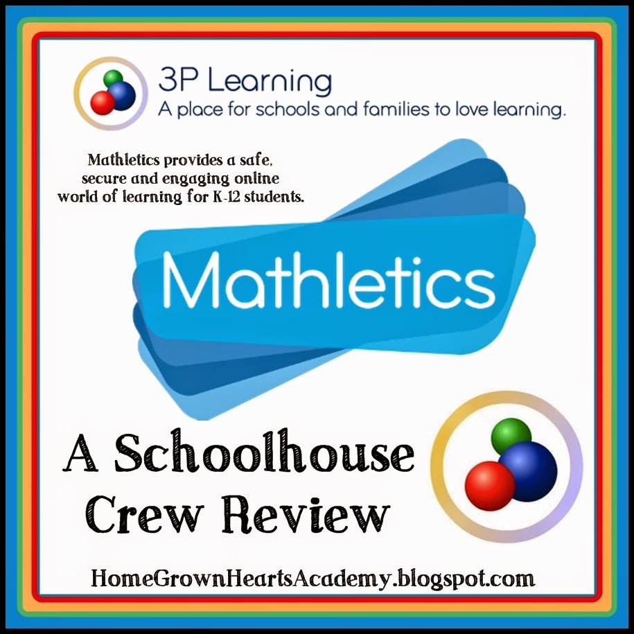 3P Learning ~ Mathletics ~ Review | Homeschool math, Learning ...