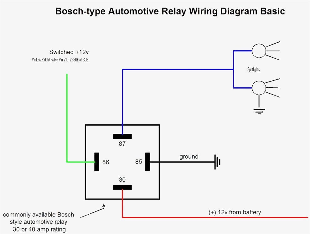 Wire Diagram Negative Door Trigger Relay With Fade Relay