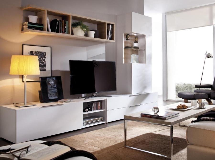 Rimobel Modern Bookshelf, Sideboard, TV Unit and Cabinet ...
