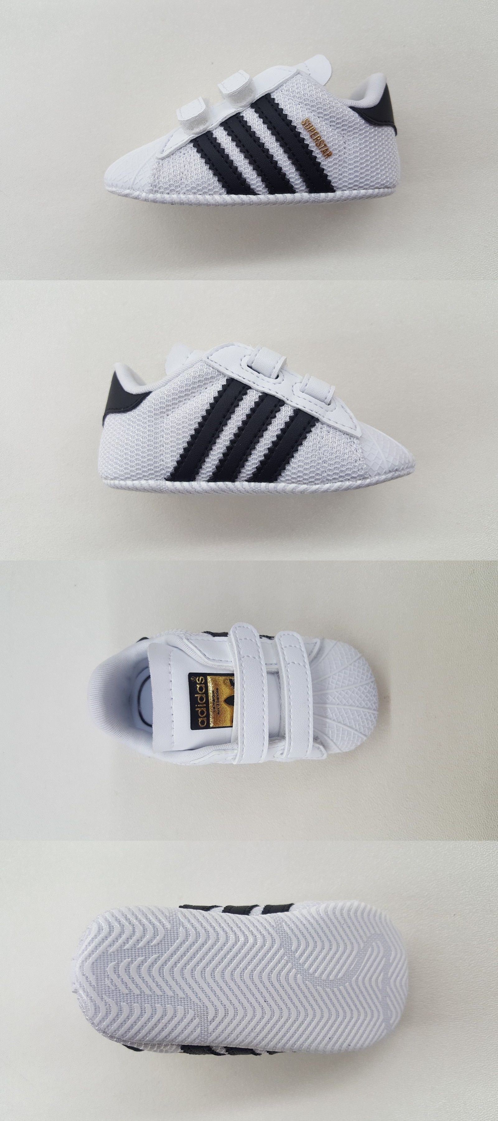 best service 7e173 59a21 Infant Shoes  Adidas Originals Superstar White Black Gold Newborn Baby  Sneakers S79916 BUY IT NOW ONLY   36.0