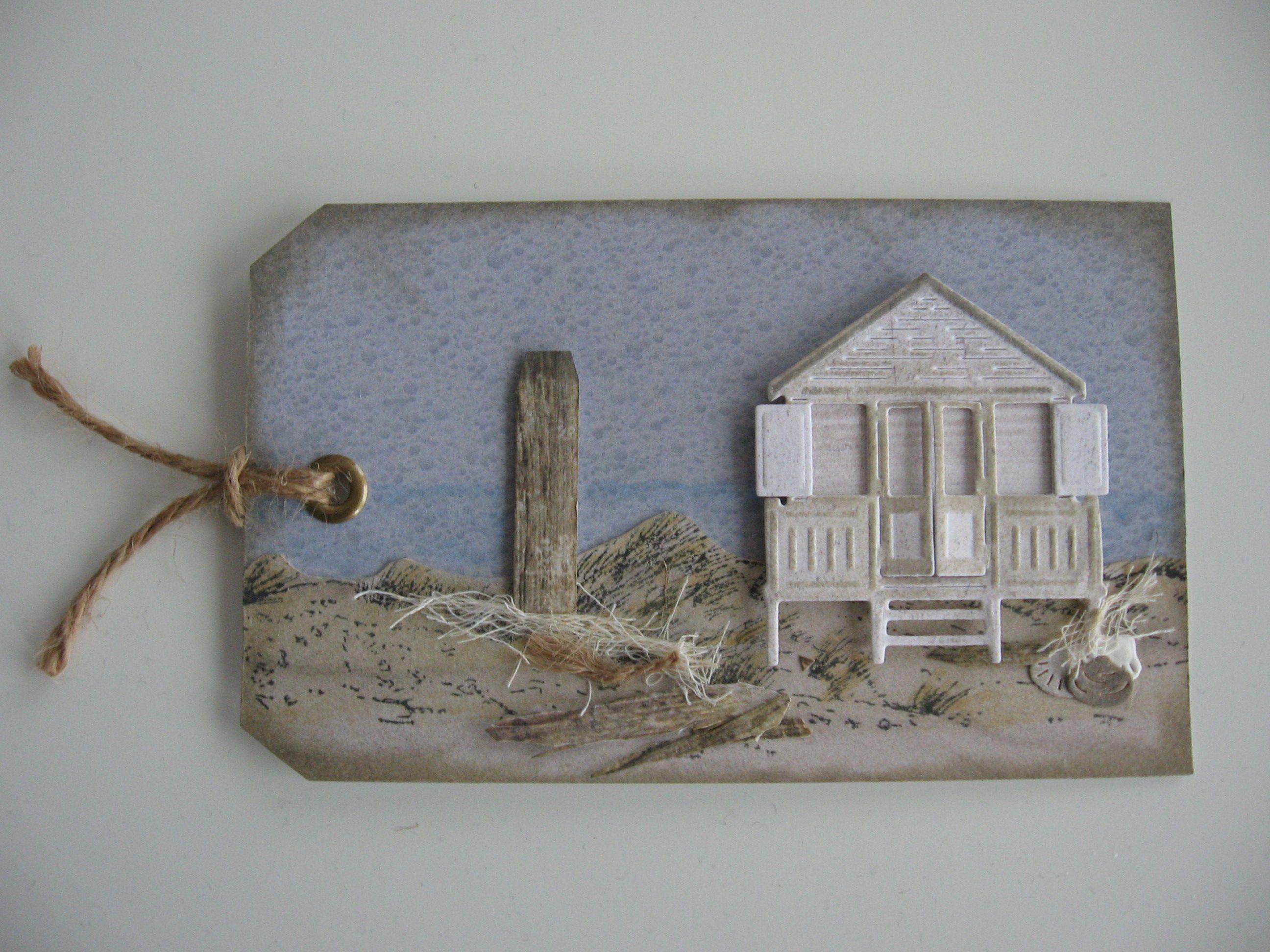 Card tag Beach Sea Seaside Marianne design tiny Beach House sand Water  Label gemaakt Card tag Beach Sea Seaside Marianne design tiny Beach House sand  . Home Design Card. Home Design Ideas