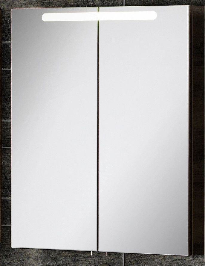 Fackelmann A-Vero Spiegelschrank 70 cm, Graueiche Jetzt bestellen - spiegelschrank badezimmer 70 cm