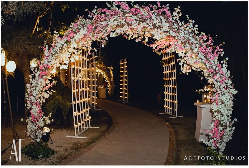 For The Love Of Pink Elements Decor Wedding Backdrop Design