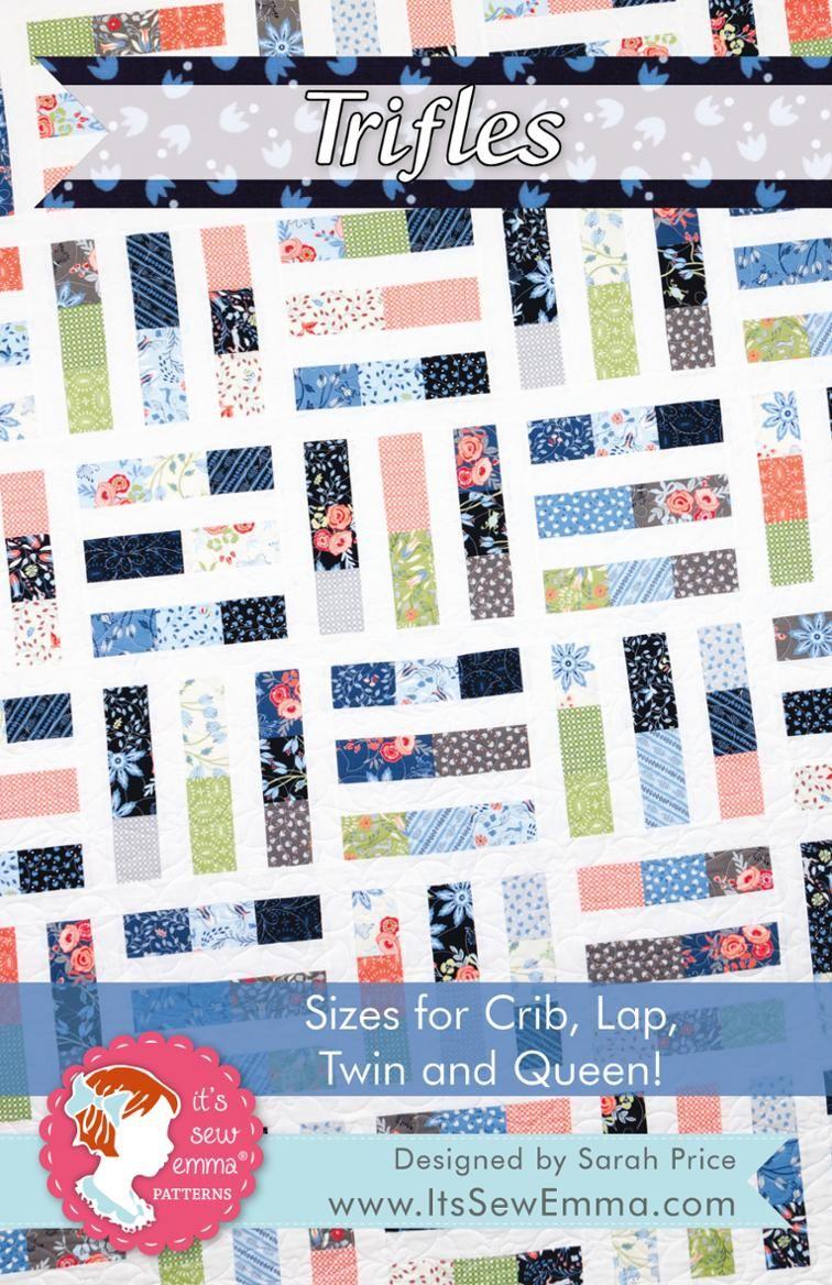 Trifles Quilt Pattern | Quilt patterns | Pinterest | Colchas