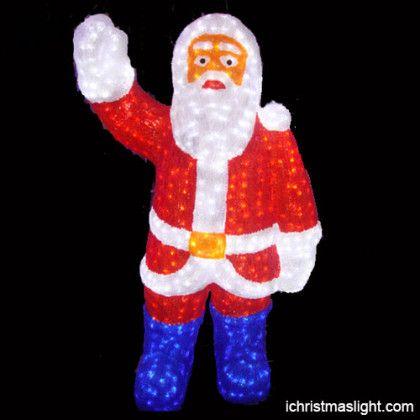 Led Santa Claus Santa Claus Christmas Decoration Items Santa Claus Decorations