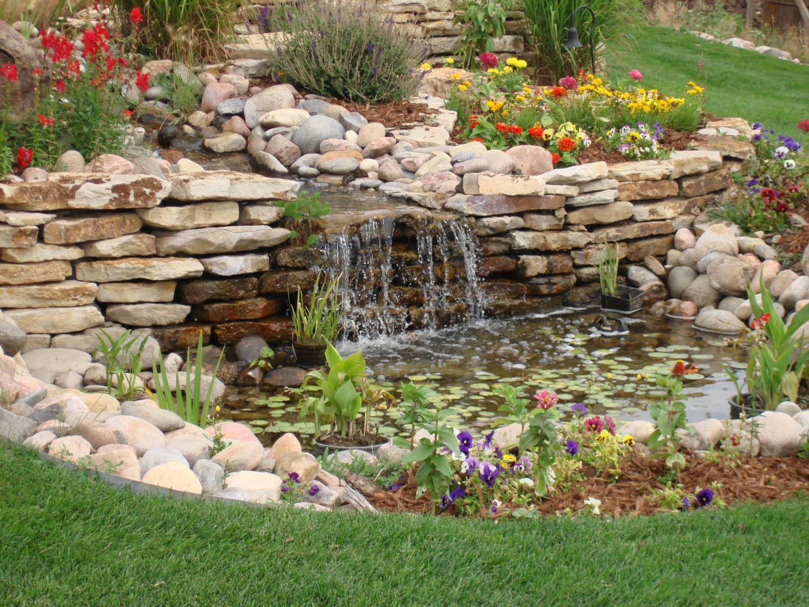 remarkable silver pond design pictures backyard water feature fish