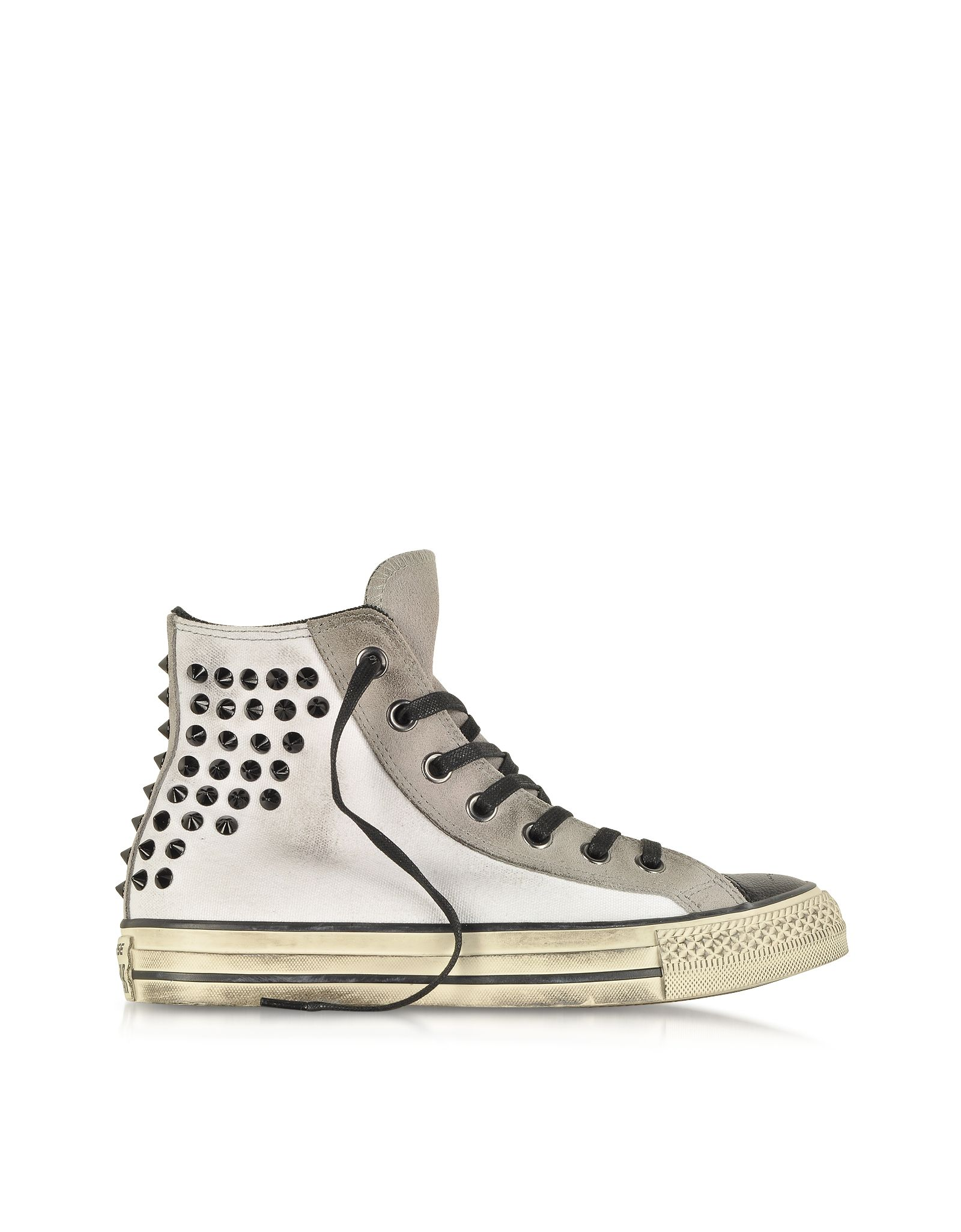 Converse Limited Edition All Star HI Textile and Suede Studded ...