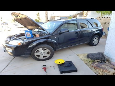 How To Change Car Engine Oil And Filter Saturn Vue 2003 2007 Youtube Car Engine Car Saturn