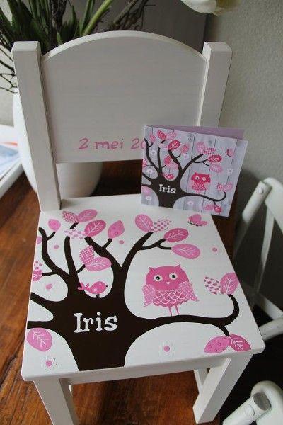 Geboortestoeltje voor Iris