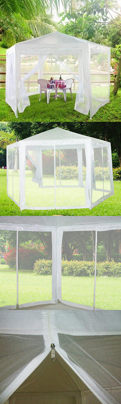 Marquees and Tents 180994 Peaktop 11X13 Heavy Duty Garden Canopy Party Tent Gazebo + 6 & Marquees and Tents 180994: Peaktop 11X13 Heavy Duty Garden Canopy ...