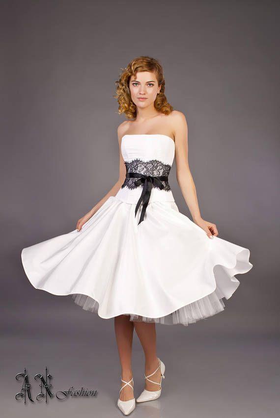 Corset Short Wedding Dress