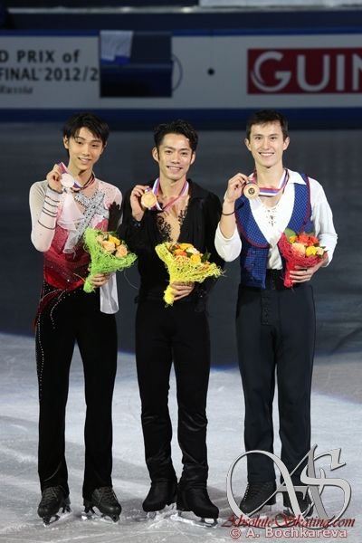 2012GPF medal ceremony