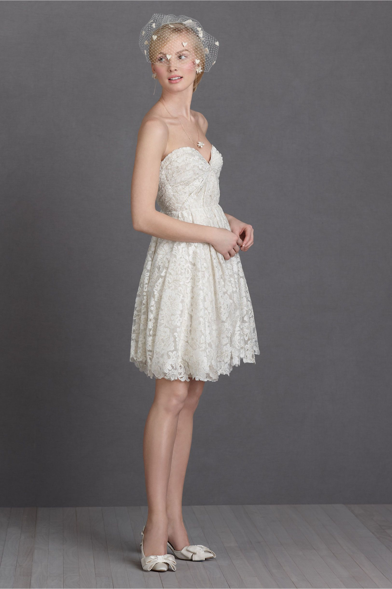 Lace dresses for wedding reception  Lustrous Lace Dress from BHLDN  also require a fancy belt  Vegas