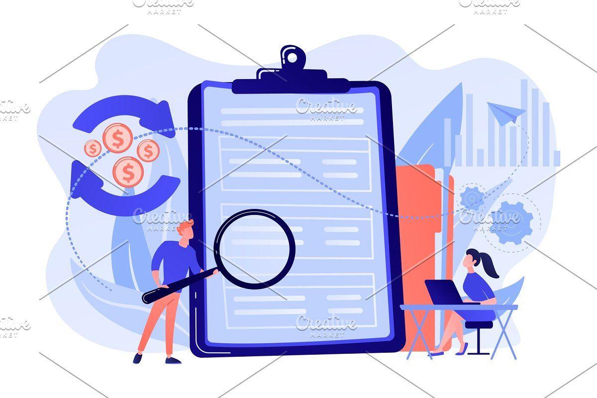 Cash Flow Statement Concept Vector In