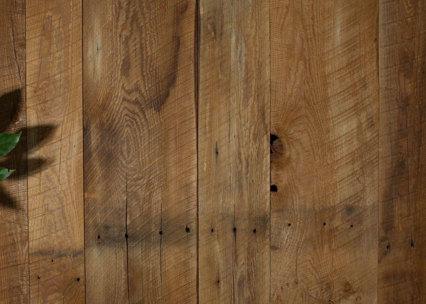 Bardage vieux bois, marron brossé brut, issu de vieilles granges du ...