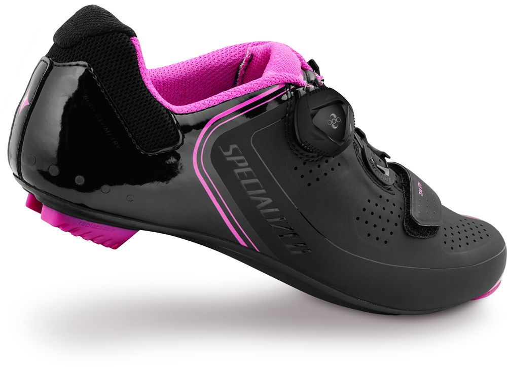 Specialized Women/'s ZANTE Road Carbon Cycling Shoes Black Pink New in Box