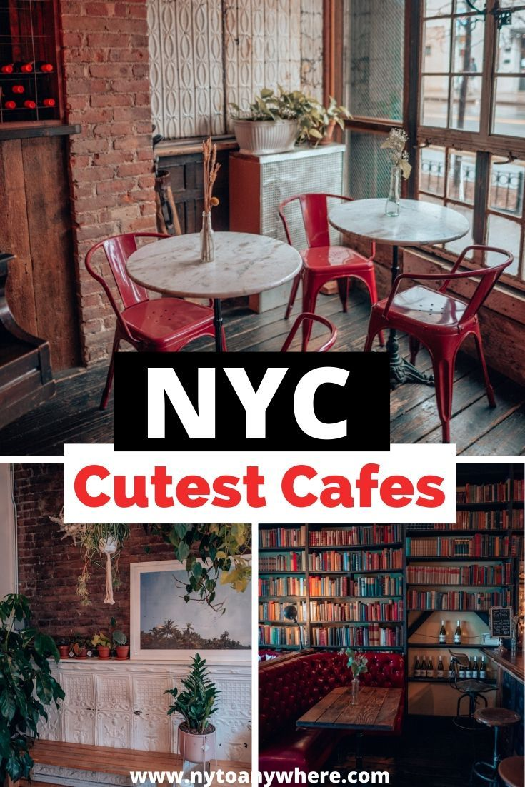 13 of the Cutest Cafes in NYC in 2020 New york travel