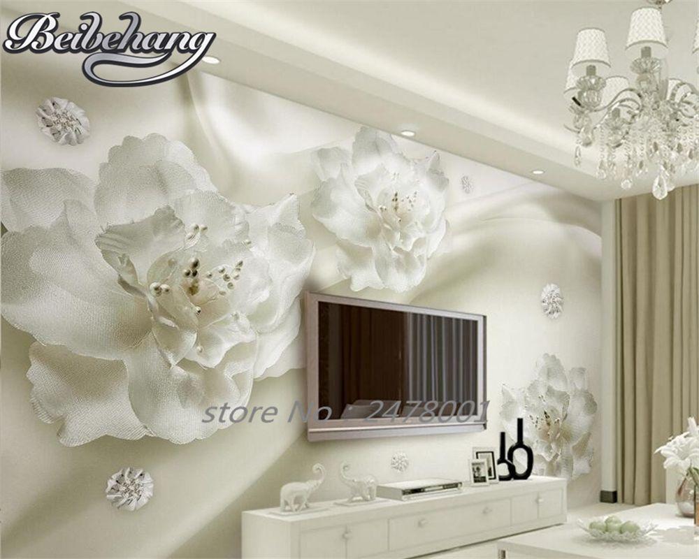 Room · Beibehang 3D Wallpaper Elegant ...