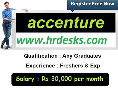Job Openings On Accenture Company Job Opening Current Job Jobs For Freshers