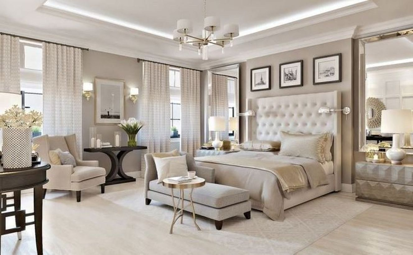 42 Majestic Classic Modern Bedroom Design Ideas In 2020 Luxurious Bedrooms Beautiful Bedrooms Master Elegant Master Bedroom