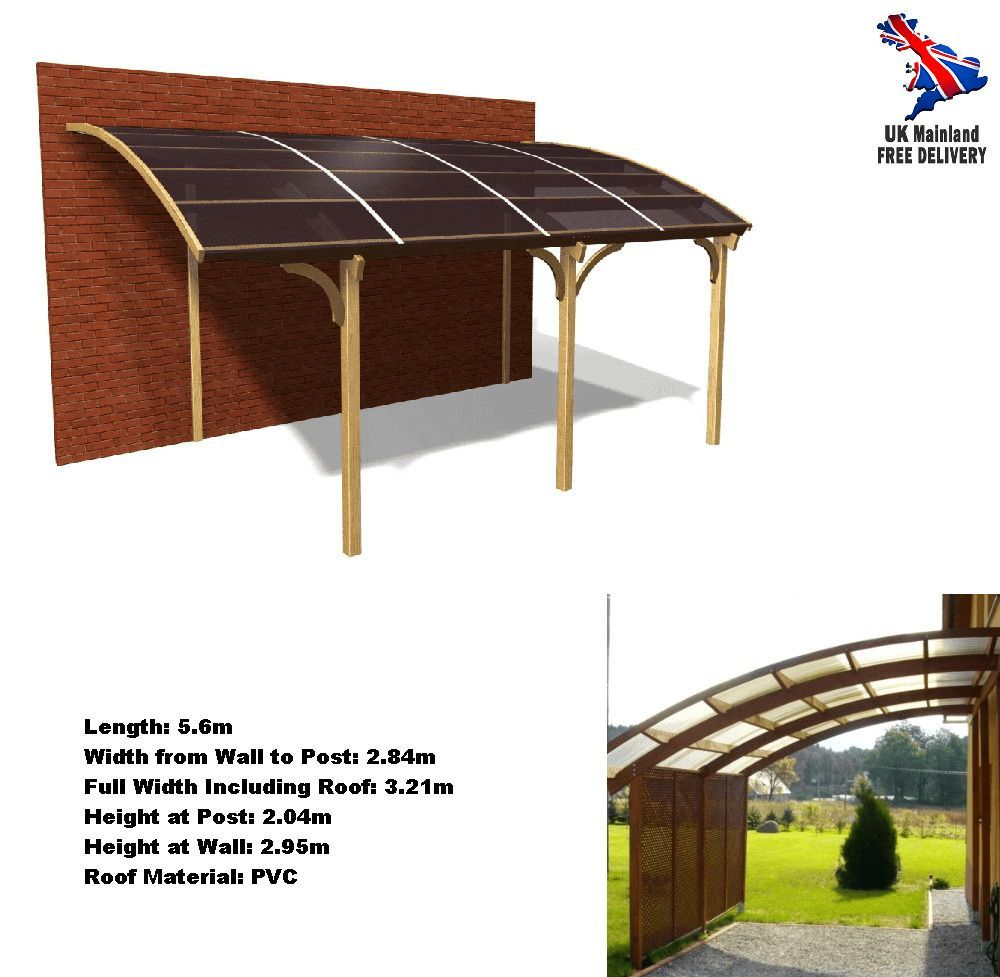 Curved Roof Carport Kits 2020 in 2020 Outdoor sheds