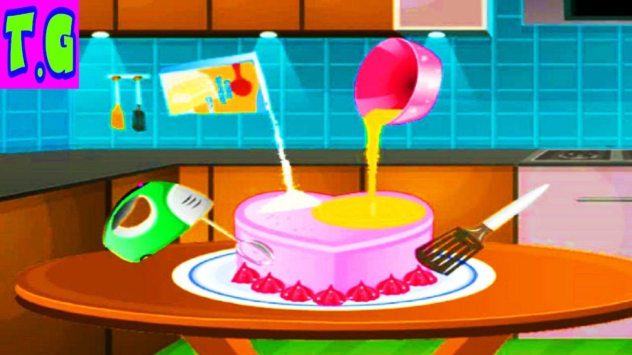 Cooking Magic Birthday Cake Gamebest Cooking Games For Kids
