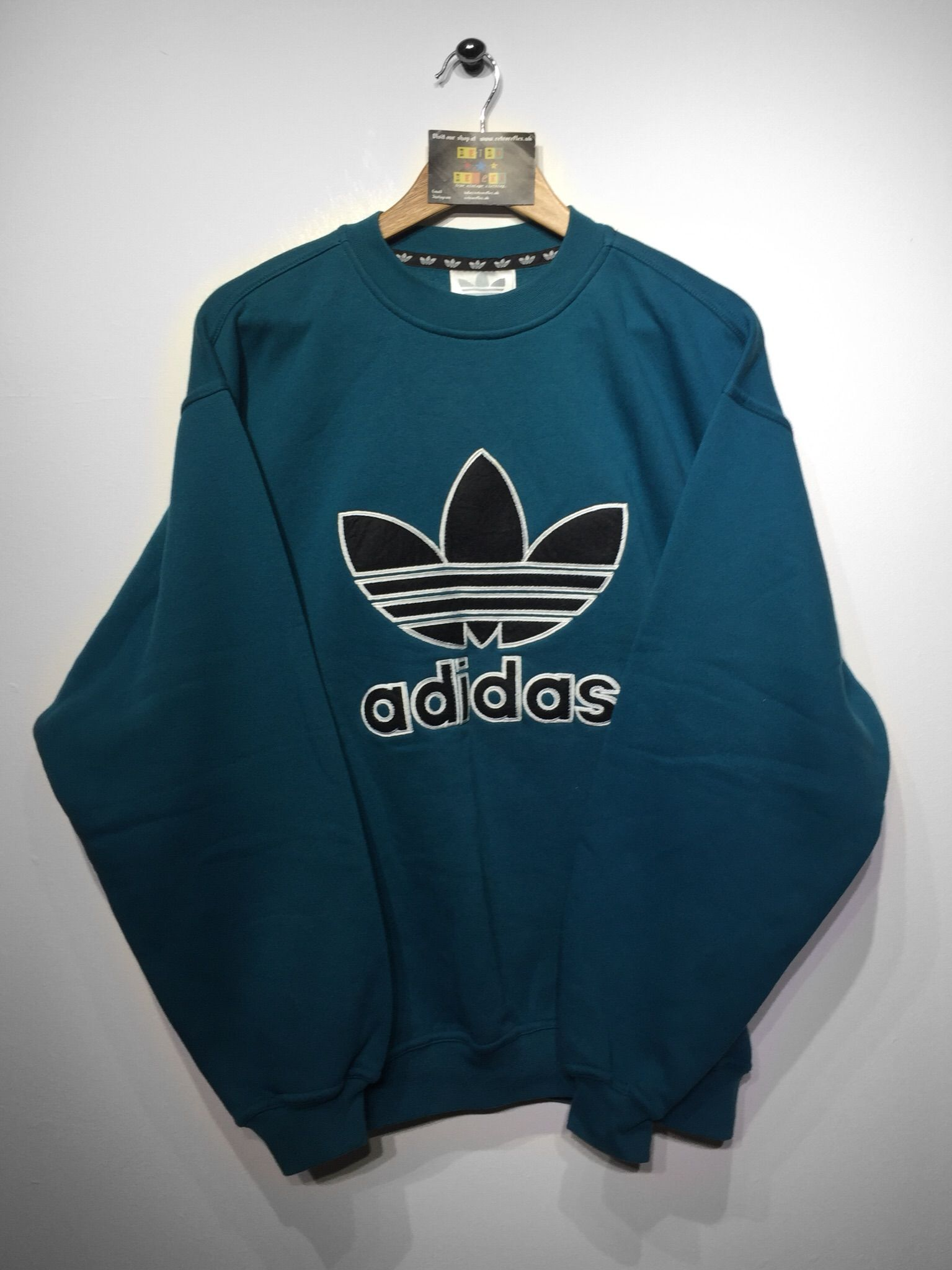 Adidas Sweatshirt Size Small (but Fits Oversized) £36