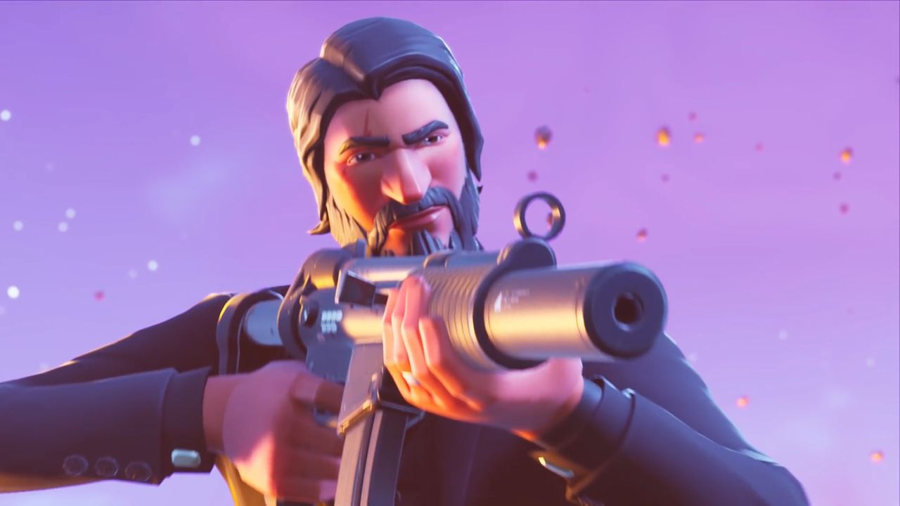 You Ll Soon Be Able To Play As John Wick In Fortnite Fortnite Hand Cannon Reaper Skins
