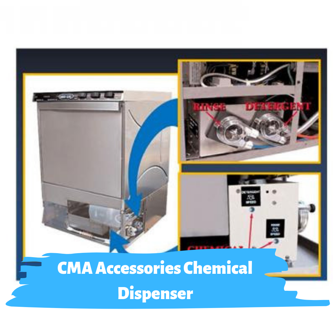Cma Accessories Chemical Dispenser For Models Cma 180uc 181gw Dishwasher Commercialdishwasher Cmaa Commercial Dishwasher Graphic Card Home Appliances