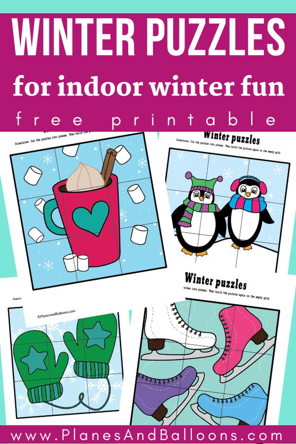 Photo of Winter activities for preschoolers for some indoor winter fun