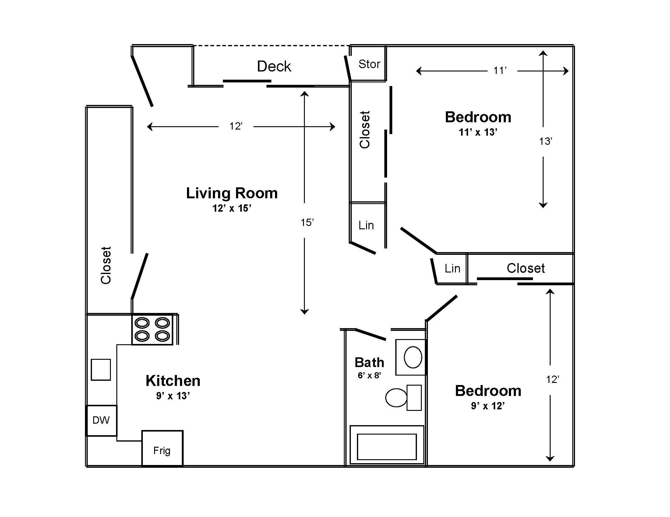 Small 2 Bedroom Apartment Floor Planswhat Is The Worst False Advertising You Have Ever See Small Apartment Floor Plans Home Layout Planner Basement Floor Plans