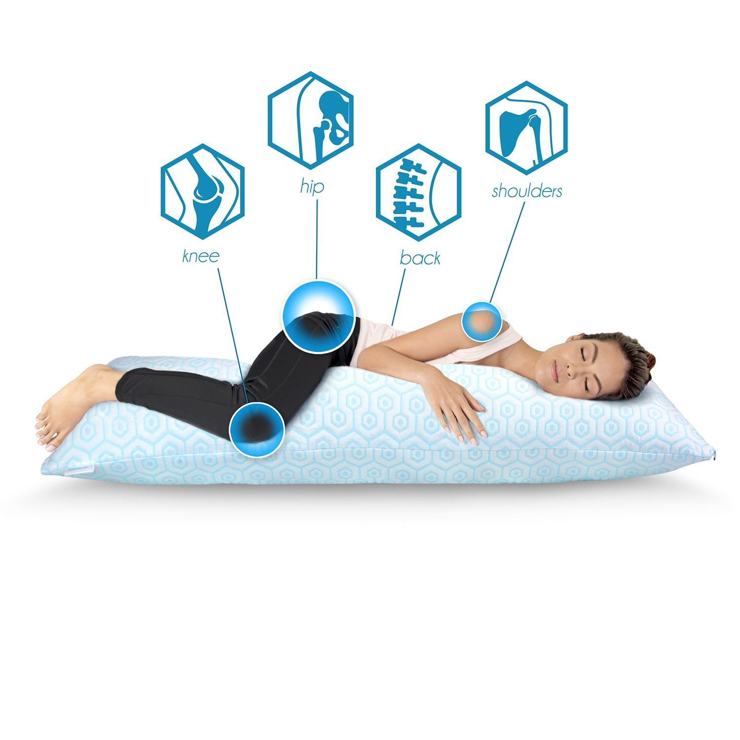 Hydrologie Cooling Body Pillow Cooling Hydrologie Pillow