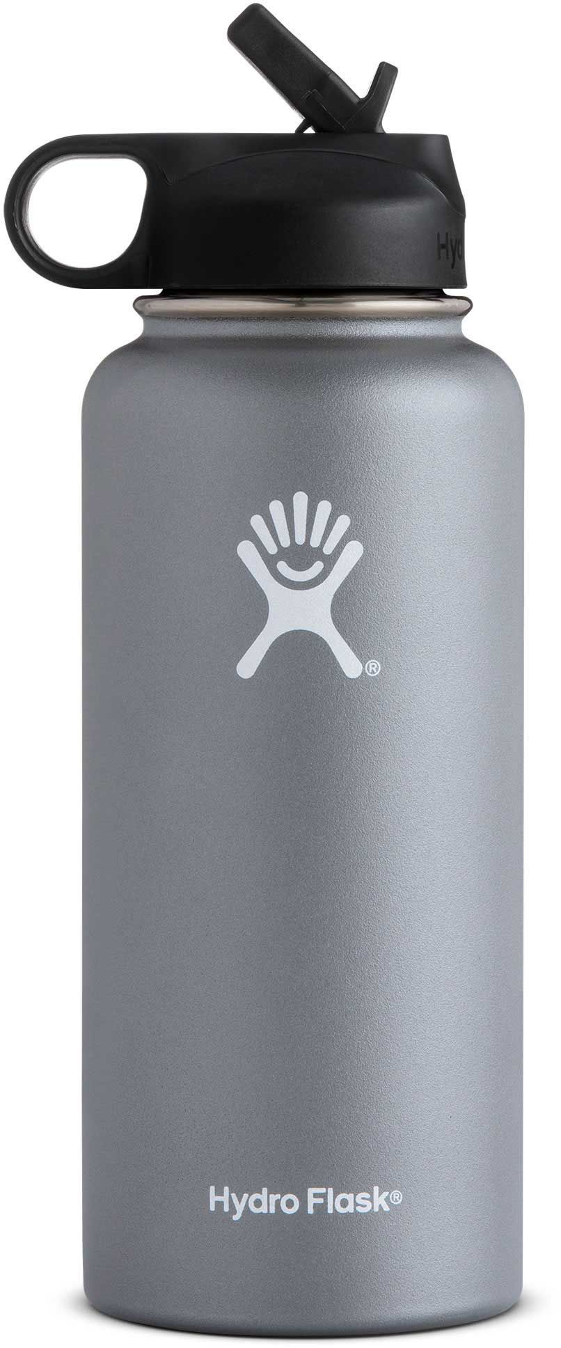 1a39639eb1 Hydro Flask Wide Mouth 32 oz. Bottle with Straw Lid   Products ...