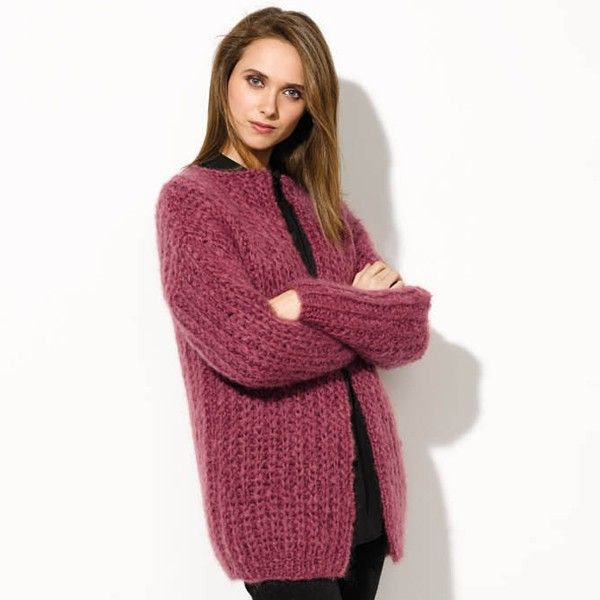 Ingenua Ladies Cardigan Knit Kit - Yarnplaza.com