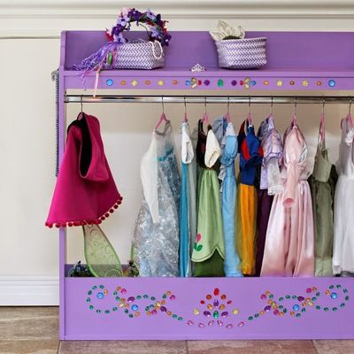 Peaches And Bees Princess Dress Up Rack For Little Momo