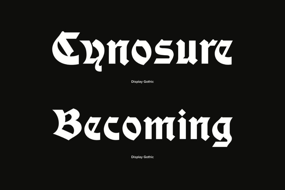 Display Gothic Desktop Font & WebFont YouWorkForThem