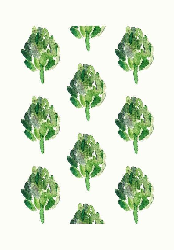 Art Print Limited Edition Moss Green