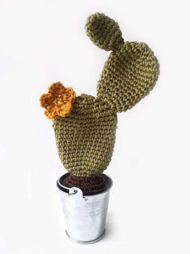 Amigurumi cactus - tejido a mano - crochet y ganchillo en DaWanda.es ...