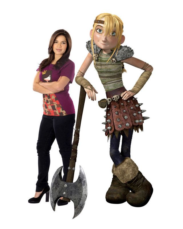 10 must see movies about dragons america ferrera dragons and how to train your dragon 2010 photos characters america ferrera voices astrid in how to train your dragon ccuart Image collections