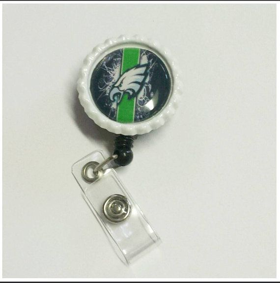 Check out this item in my Etsy shop https://www.etsy.com/listing/212200798/mens-badge-reel-philadelphia-eagles