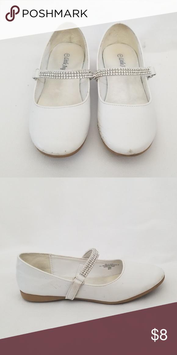 Little Angel White Shoe Size 1
