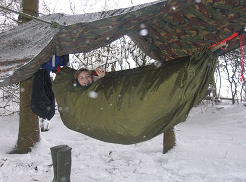 Winter hammock camping - Winter Hammock Camping Backpacking Gear Pinterest Camping