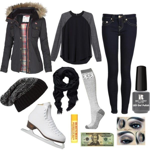 what to wear on a first date ice skating