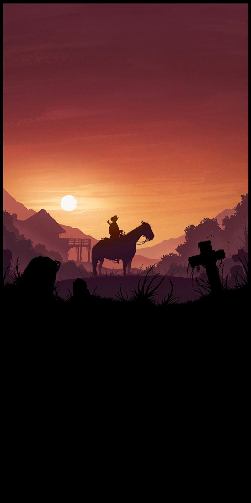 Pin By Linh Nguyen On Videogames Red Dead Redemption Art Red Dead Redemption Artwork Android Wallpaper Red