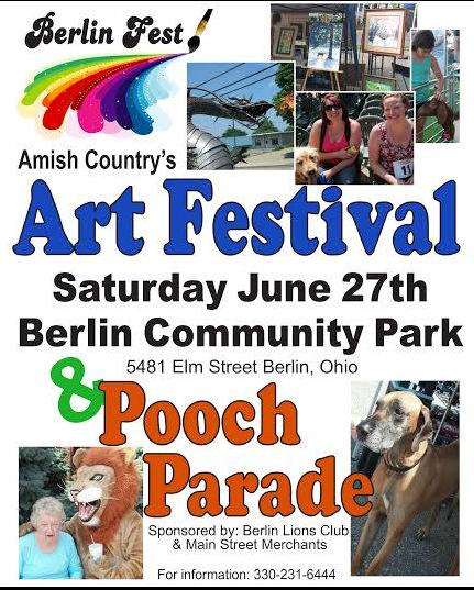 What Could Be More Fun Than Combining And Art Festival With A Dog Parade We Don T Know Visit Berlin Oh Amish Country Ohio Amish Country Holmes County Ohio