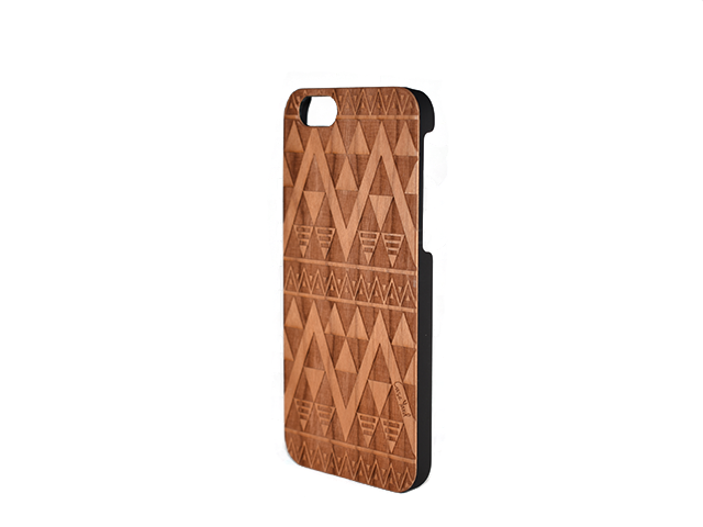 competitive price 2563e 3def2 CLEARANCE SALE - Case Yard Carved Wood Phone Case - Triangle- iPhone ...
