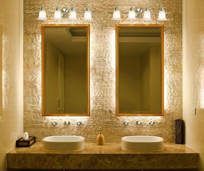 Matching Bathroom Mirror Lighting For Small Es In The Becomes A