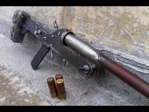 Homemade double barrel 410 pistol shotgun part 1 - YouTube | Places