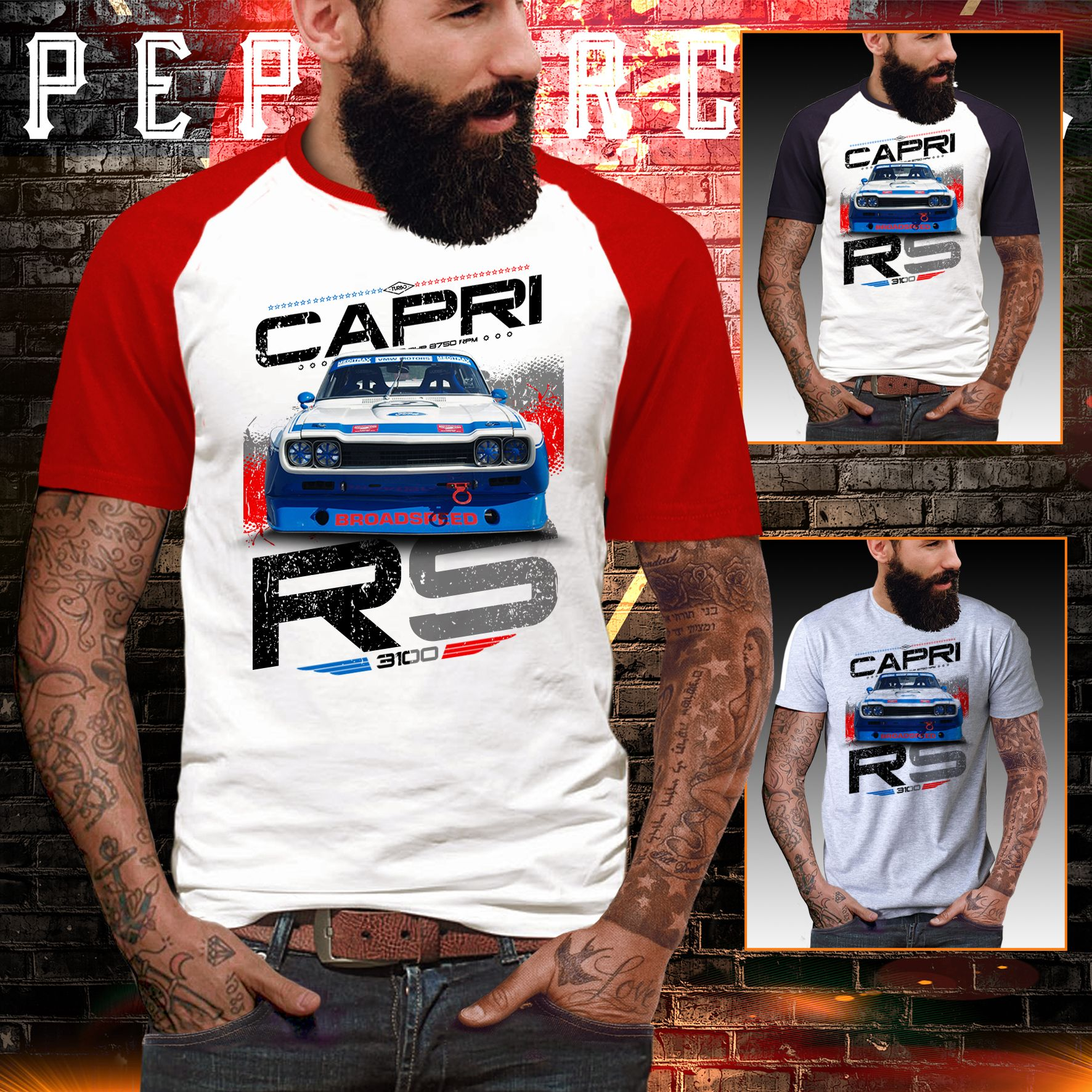 Details About Capri T Shirt Rs 3100 2600 Rally Touring Boy Ford