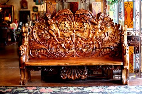 Rustic Furniture Mexican Bench Mexico Inspiration In 2019